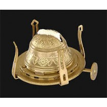 #1 Embossed Queen Anne Burner w/Ant. Brass Finish