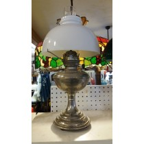 Oil lamp parts oil lamp chimneys hurricane lamp parts oil lamp antique saress 03 oil lamp with white shade aloadofball Choice Image